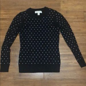 Michael Kors Gold Studded Sweater